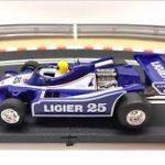 Ligier azul oscuro slot scalextric