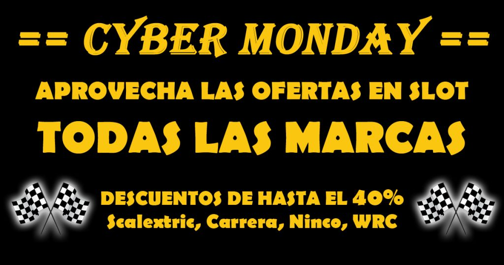 Ofertas de Slot Cyber Monday
