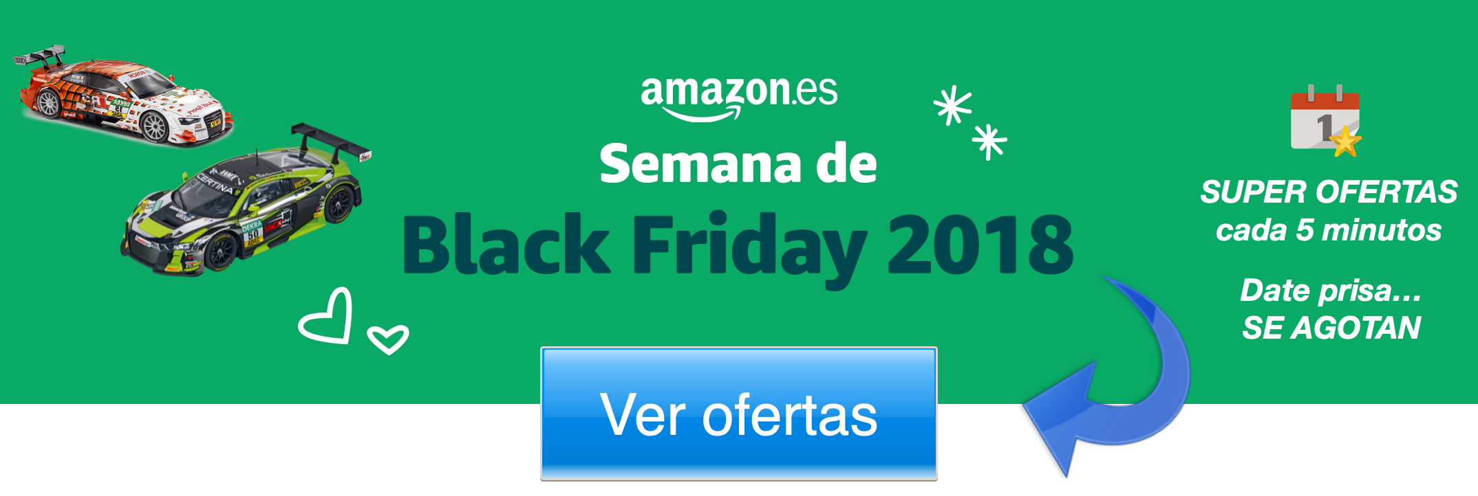 ofertas slots amazon black friday 2018