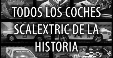 ¿Cuántos coches Scalextric existen?