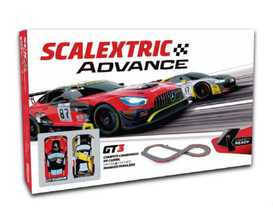 Caja del Scalextric Advance GT3