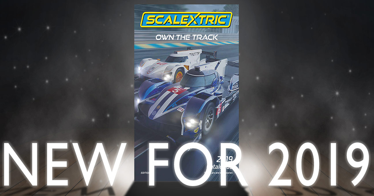Coches y circuitos Scalextric UK 2019