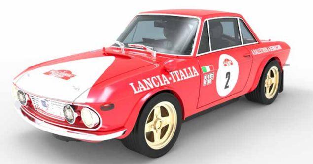 "Lancia Fulvia 1.6 HF ""San Remo´72"""