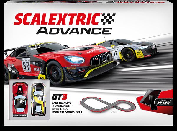 Nuevo circuito Scalextric Advance