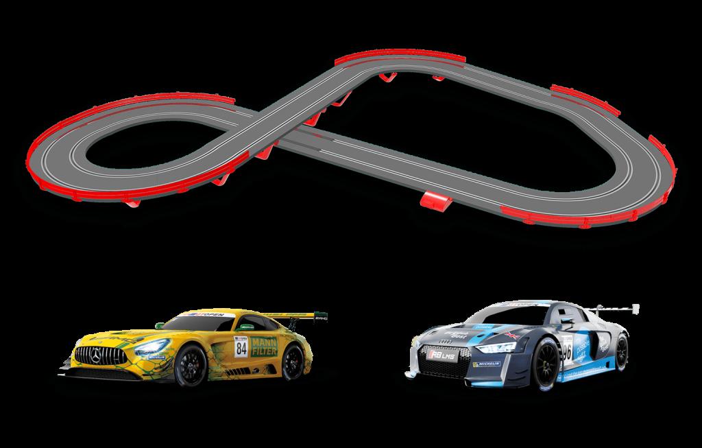 Características del Circuito Scalextric Original GT Open