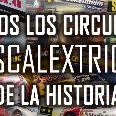 Referencias de Circuitos de Scalextric