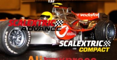 scalextric en Aliexpress