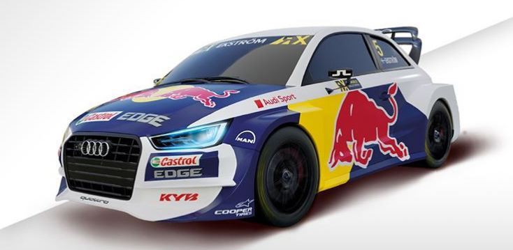 "Audi S1 WRX ""Ekström"" Scalextric Advance 2020"