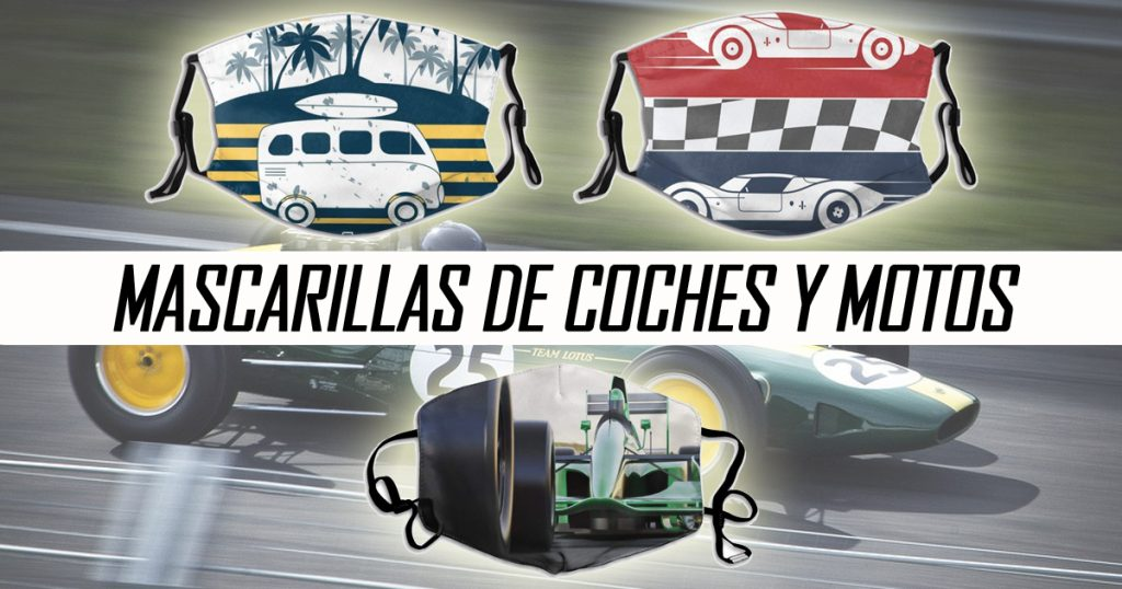 Mascarillas de coches y motos
