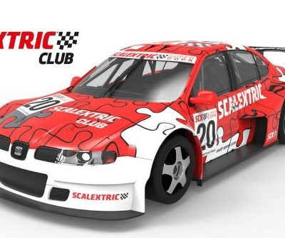 Coche del Club Scalextric 2020