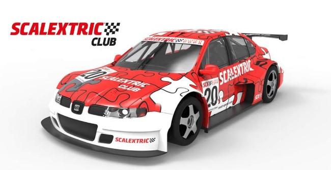 Coche del Club Scalextric 2020