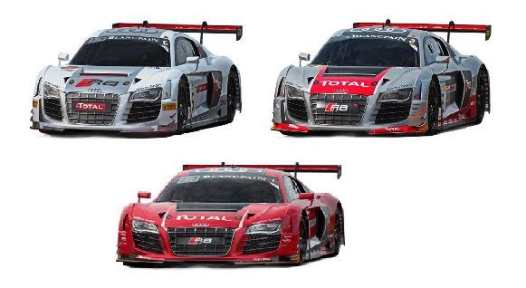 Nuevos Audi R8 GT3 Ninco 1:32