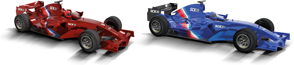 Coches Scalextric Compact Fórmula 1